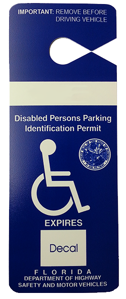 Disabled Parking Permit Overview | Florida Tax Collector serving ...